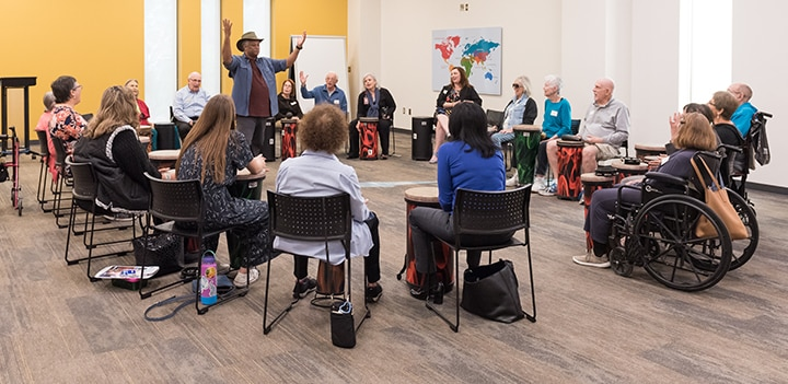 Creative Aging: Music and Memory Care Tour Image
