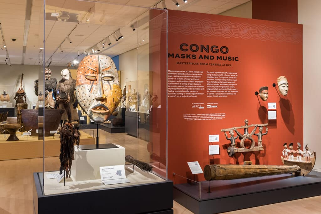 Congo Masks and Music Image